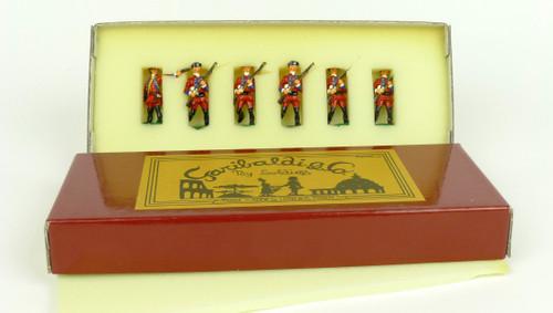 Garibaldi Toy Soldiers B17 60th Royal Americans Battle of Bushy Run French Indian War