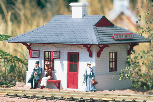 Piko 62700 Green River Station Built Up Building G Scale