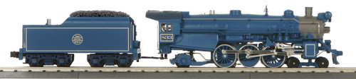 MTH 30-1768-1 Jersey Central Blue Comet 4-6-2 Imperial P47 Pacific Steam Engine