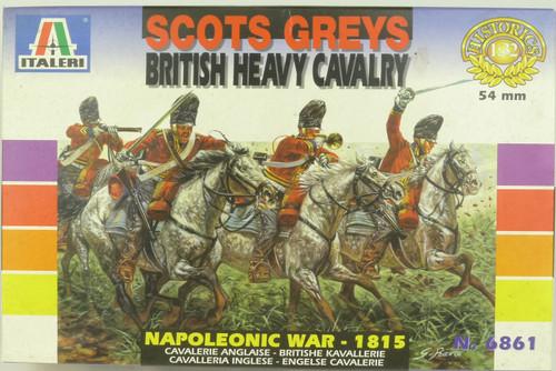 Italeri 6861 Scots Greys 1815 British Heavy Cavalry 1:32 Scale Plastic Model Kit