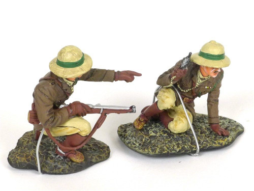 Thomas Gunn Miniatures LOA011 British Officer Command Group WWI 2 Soldiers