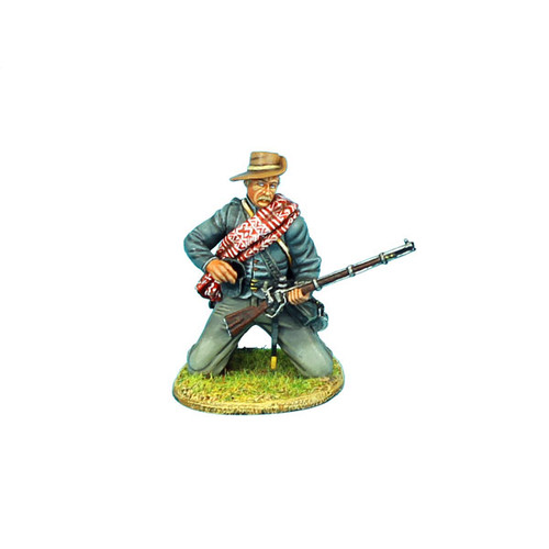 First Legion ACW051 Confederate Infantry Kneeling Loading