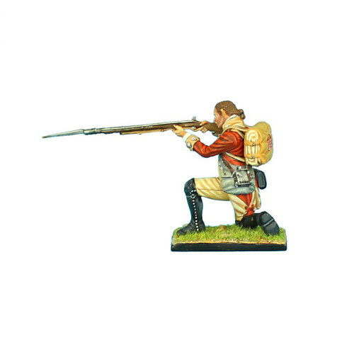 First Legion AWI046 British 22ND Foot Kneeling Firing - Bare Head