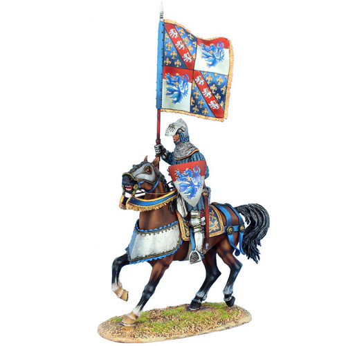 First Legion MED043 French Standard Bearer - Louis de Vendome