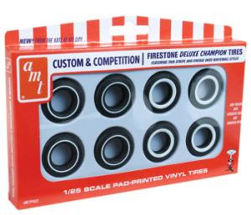 AMT 002 1/25 scale Firestone Deluxe Champion Tire Pack