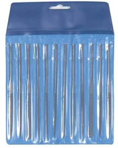 Excel Hobby Blades 55607 12pc Needle File Set/Pouch