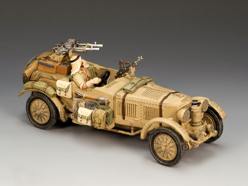 King & Country Soldiers EA042 World War II Eighth Army Desert Bentley