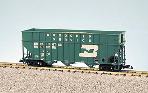 USA Trains R14089 Burlington Northern Green Woodchip Car G Scale