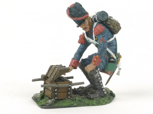 The Collectors Showcase CS00396 French Guard Ready Ammo