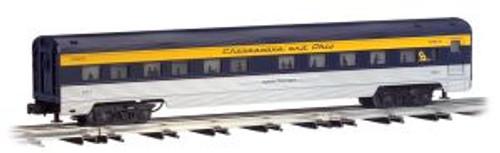 Bachmann WLM43155 O Gauge 72' Streamliners C&O 4 pack