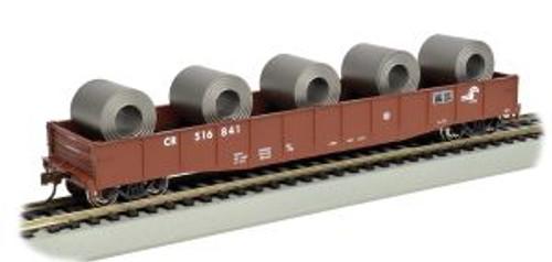Bachmann Trains 71909 HO 50' Gondola CR w/Coil Load