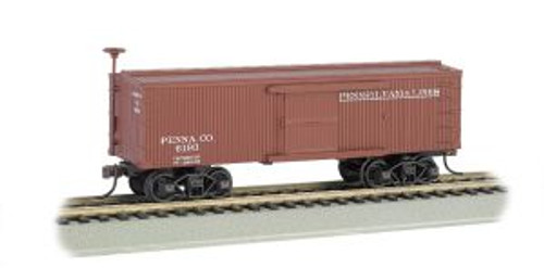 Bachmann 72304 HO Scale Old-Time Boxcar PRR Lines