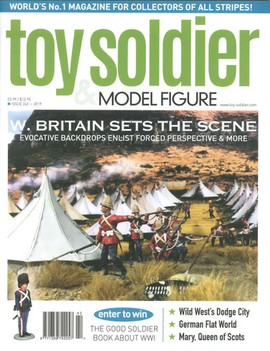 Toy Soldier & Model Figure Magazine Issue 242 W Britain Sets The Scene