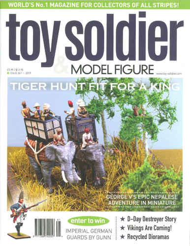 Toy Soldier & Model Figure Magazine Issue 241 Tiger Hunt Fit For A King