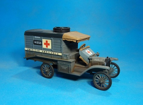 John Jenkins Designs BGC-04 Knights Of The Skies US Ford T Ambulance 1918
