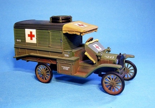 John Jenkins Designs BGC-01 Knights Of The Skies Ford T Ambulance 1918