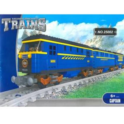 Ausini 25002 Building Block Express Loco Train Set 832p