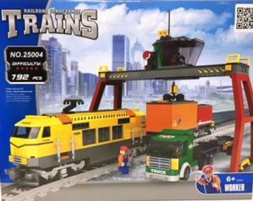 Ausini 25004 Building Block City Cargo Station 792p