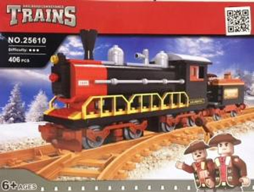 Ausini 25610 Building Block Steam Loco 406p