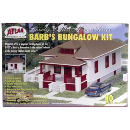Atlas Trains #712 HO Barb's Bungalow Home Kit