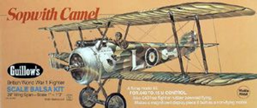 Guillow Inc. Model Kits GUL801 Sopwith Camel