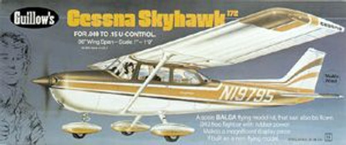 Guillow Inc. Model Kits GUL802 Cessna Skyhawk