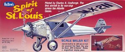 Guillow Inc. Model Kits GUL807 Spirit of St. Louis