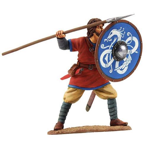 W Britain Soldier 62107 Viking Shield Wall Defender No. 4