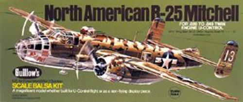 Guillow Inc. Model Kits GUL805 B-25 Mitchell