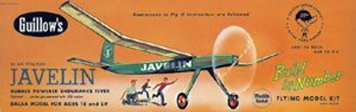 Guillow Inc. Model Kits GUL603 Javelin