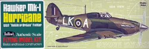 Guillow Inc. Model Kits 506 Hawker Hurricane