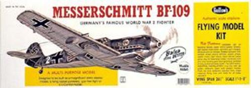 Guillow Inc. Model Kits 401 Messerschmitt BF-109