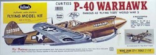 Guillow Inc. Model Kits 405 P-40 Warhawk