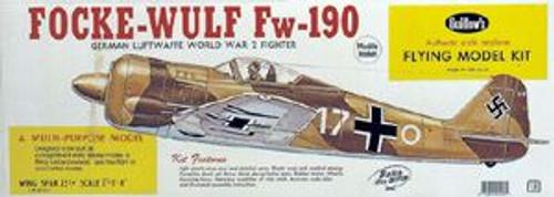 Guillow Inc. Model Kits 406 Focke-Wulf 190