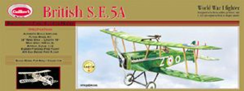 Guillow Inc. Model Kits 202 British SE5-A