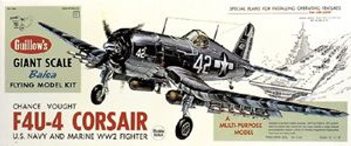 Guillow Inc. Model Kits 1004 F4F Corsair