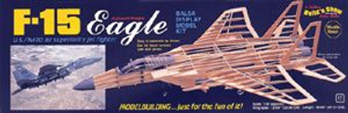 Guillow Inc. Model Kits 1401 F-15 Eagle