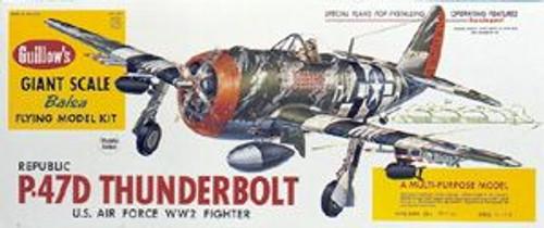 Guillow Inc. Model Kits 1001 P-47 Thunderbolt