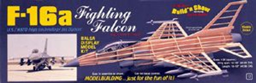 Guillow Inc. Model Kits 1403 F-16 Fighting Falcon
