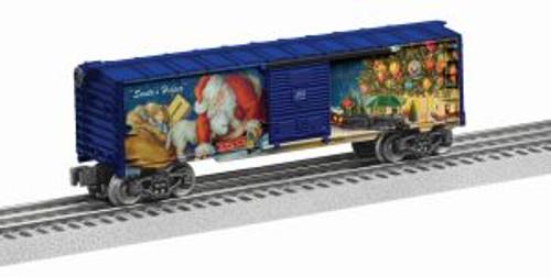 Lionel 6-82678 O USA Trotta Thomas 2016 Christmas Boxcar
