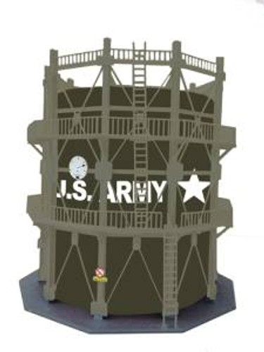 Model Power 205 HO US Army Large Oil Storage Tank