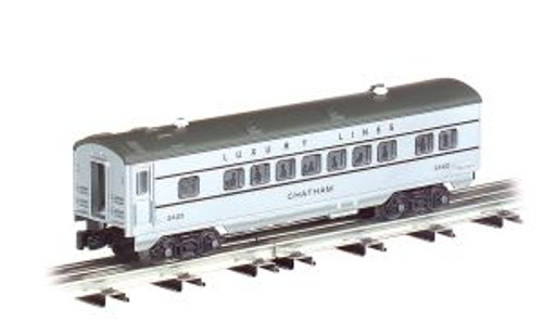 Williams 43250 O Gauge 027 Streamliners Sil.Streak 3 pack