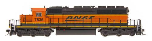 InterMountain Railway Co. HO Scale Model Trains Burlington Northern Santa Fe SD40-2 Locomotive
