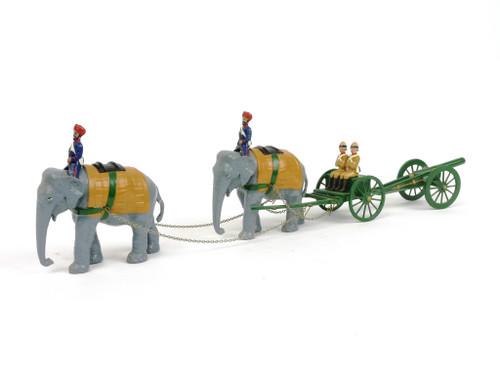 Ducal Marlborough Manufacturer Unknown Durbar Series Elephant Cannon Caisson Indian Army British