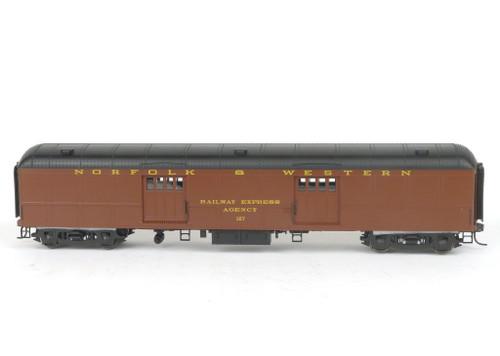 Weaver Quality Craft Trains G22101SD Norfolk And Western B60b Baggage/Mail Car 2Rail O Gauge
