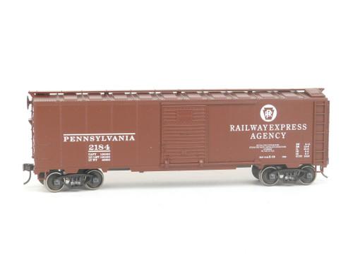 Weaver Quality Craft Trains U3534SD Pennsylvania Steel Side Boxcar 2Rail O Gauge