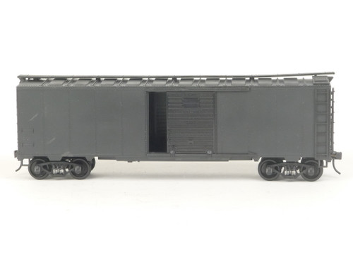 Weaver Quality Craft Trains U3500S Undecorated Steel Side Boxcar 2Rail O Gauge