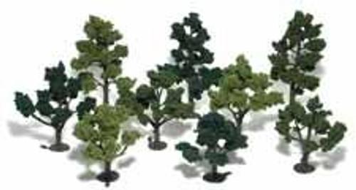 Woodland Scenics 1102 Tree Kit 3-5 in Green Deciduous