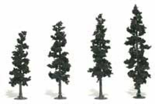 Woodland Scenics 1105 Tree Kit 4-6 in Conifer Green