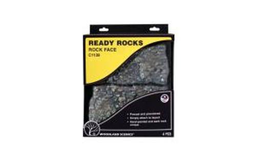 Woodland Scenics 1138 Rock Face Ready Rocks